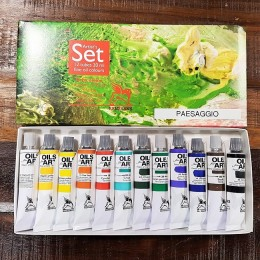 SET Colore Olio Fine Art Renesans Tubo 20 ml