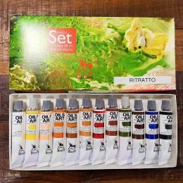 SET Colore Olio Fine Art Renesans Tubo 20 ml
