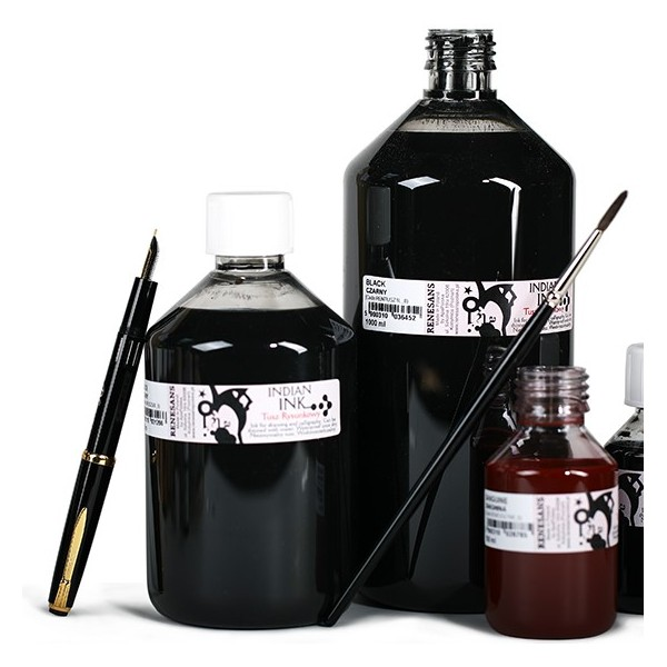 Inchiostro Disegno-Arte-Pittura Indian-Ink